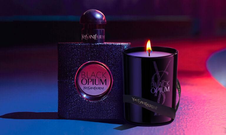 Free Black Opium Candle