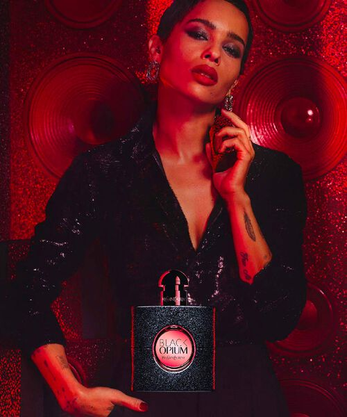 Black Opium Eau de Parfum Babycat Holiday Limited edition